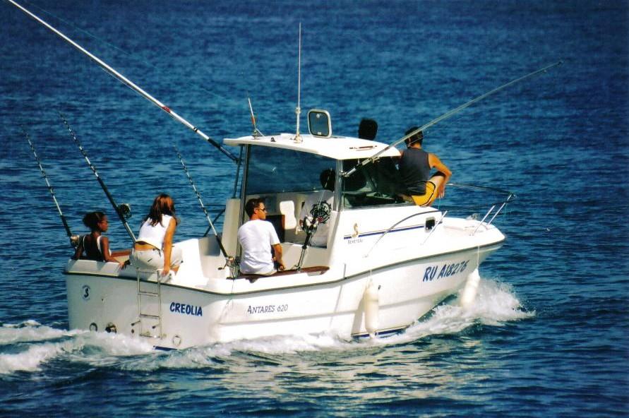 Le rapport sur la pêche à vladimirovke