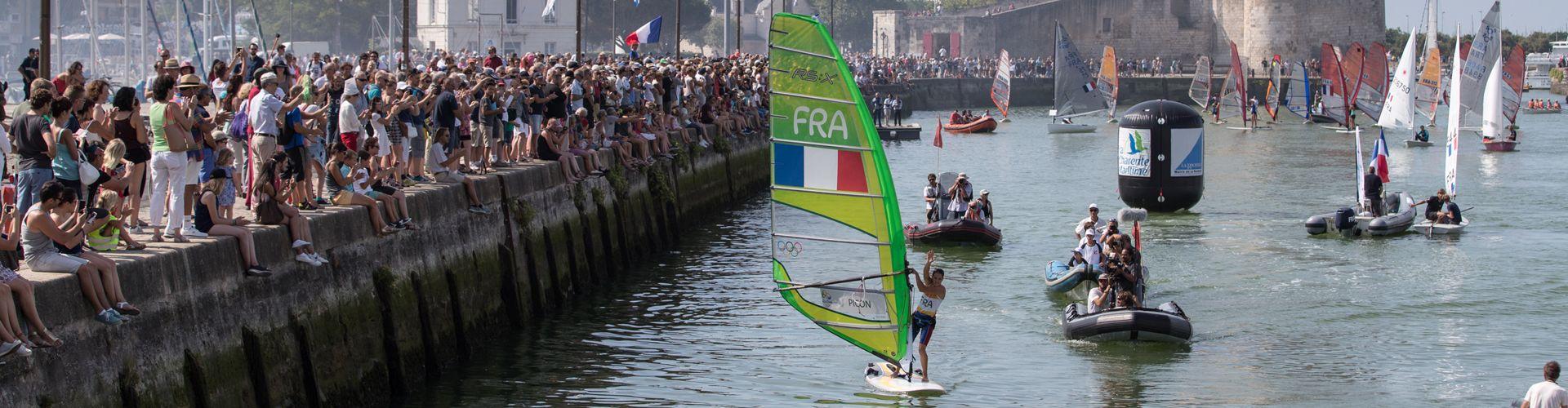 Voile : Parade nautique – La Rochelle – 08/07/2016